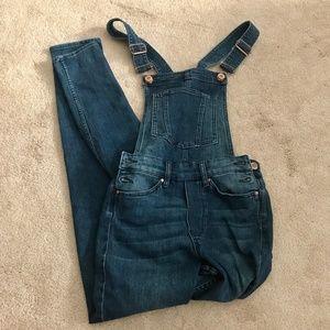 H&M Skinny Leg Jean Overalls - Never Worn - Size 2